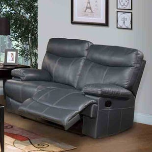 Apollo Bonded Leather  Power Reclining Loveseat