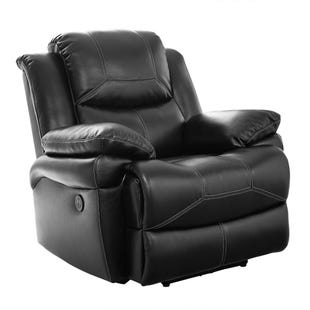 Flynn Black Power Glider Recliner