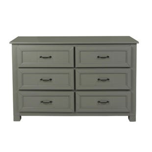 Skyfall Painted Gray 6 Drawer Dresser