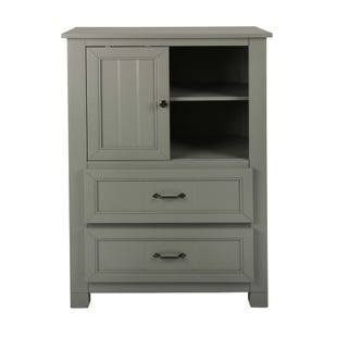 Skyfall Painted Gray Wardrobe