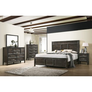 Andover Nutmeg Queen 3 Piece Bedroom Set