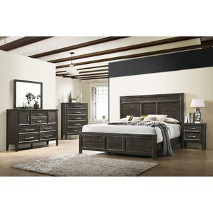 Andover Nutmeg King 3 Piece Bedroom Set