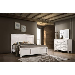Andover White Queen 3 Piece Bedroom Set
