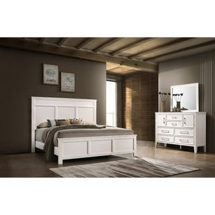 Andover White King 3 Piece Bedroom Set