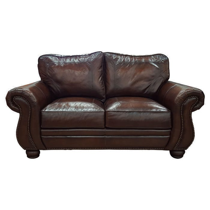 Super Bernhardt Breckenridge Leather Loveseat Gmtry Best Dining Table And Chair Ideas Images Gmtryco