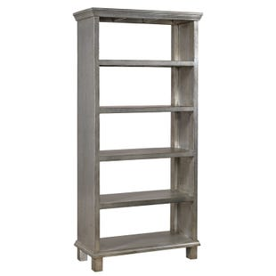 Aspen Home Preferences Metallic Room Divider Bookcase
