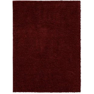 5x7 Willow Shag Rug Berry