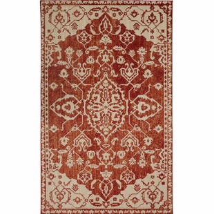 Mohawk Heirloom Pokara Garnet 5x8 Rug