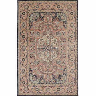 Mohawk Heirloom Thame Indigo 5x8 Rug