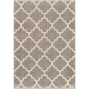 Tunnis Pewter 8x11 Rug