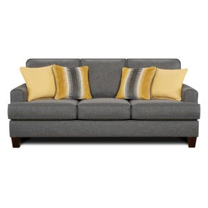 Track Arm Maxwell Sofa Gray