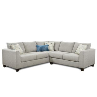 Fusion Paradigm Gray Contemporary Sectional
