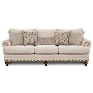 Fusion Carys Cream Sofa