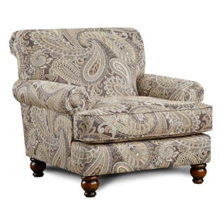Fusion Carys Cream Accent Chair