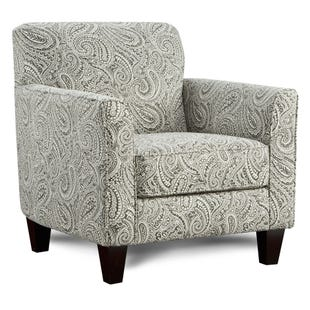 Homecoming Paisley Accent Chair