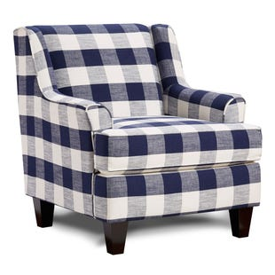 Buffalo Check Manchester Chair Blue