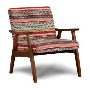 Fusion Seville Wood Accent Chair