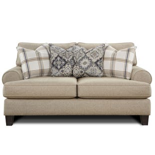 Twill Whitaker Loveseat Beige