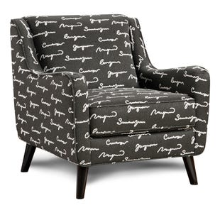 Shadowfax Poetry Accent Chair Gray