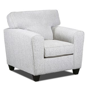 Uptown Cream Chenille Chair
