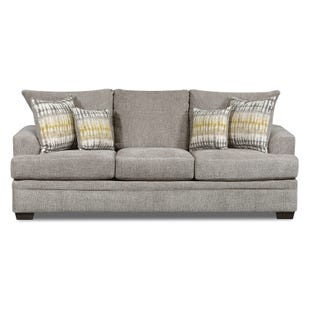 Perth Chenille Sofa Gray