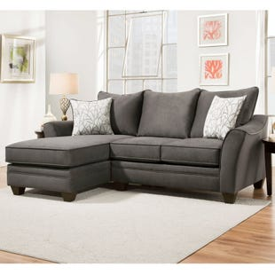 Savvy 2 Piece Left Facing Sofa Chaise