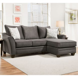 Savvy 2 Piece Right Facing Sofa Chaise