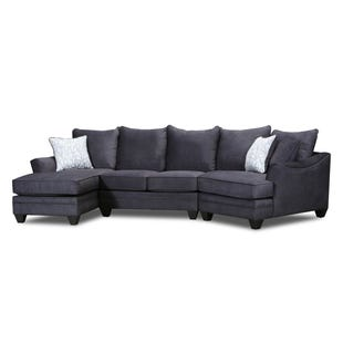 Savvy Left Facing Chaise, Loveseat and Cuddler