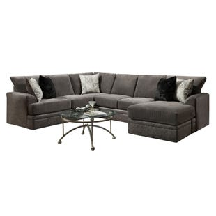 Akan Graphite Reversible Chaise Sectional
