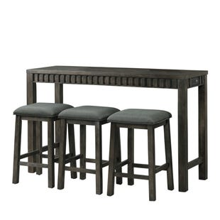 Shelter Bay USB Table and Stools