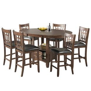 Max 7 Piece Counter Height Set