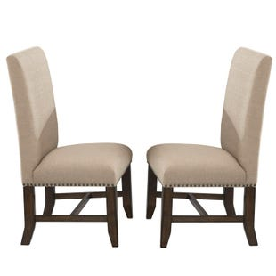 Franklin Fabric Set of 2 Chairs