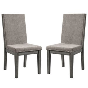 South Paw Dark Gray Set of 2 Chairs