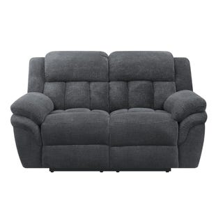 Santorini Carbon Power Reclining Loveseat