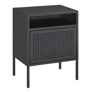 Gray USB Accent Table