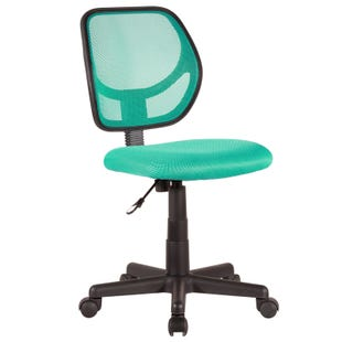 Milbrook Teal Office Chair