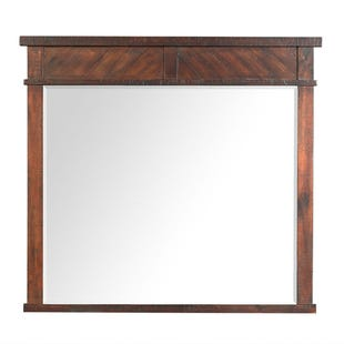 Jax Smokey Walnut Mirror