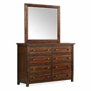 Dawson Creek Dresser & Mirror
