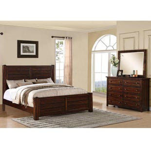 Dawson Creek Brown King Bedroom Set