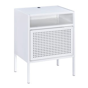 White USB Accent Table