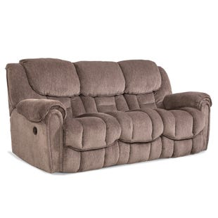 Homestretch Del Mar Taupe Reclining Sofa