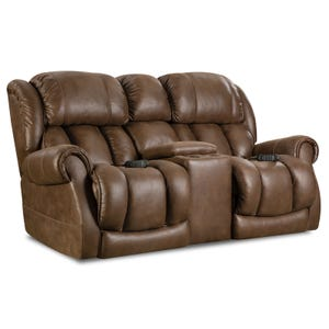 Homestretch Atlantis Chocolate Full Power Reclining Sofa