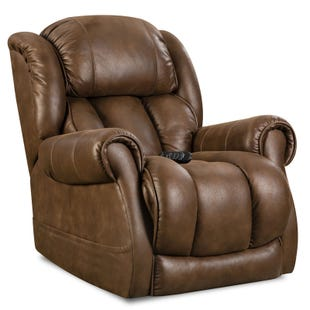 Homestretch Atlantis Chocolate Full Power Recliner