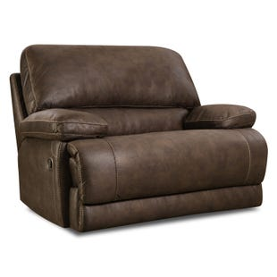 Homestretch Colt Chocolate Chair and 1/2 Power Recliner