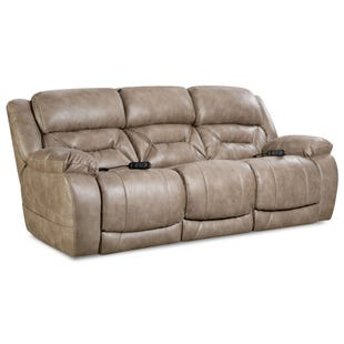 Homestretch Enterprise Mushroom Triple Power Reclining Sofa