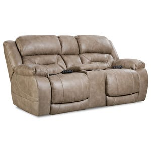 Homestretch Enterprise Mushroom Triple Power Loveseat