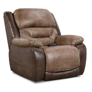 Homestretch Lone Star Walnut Full Power Recliner