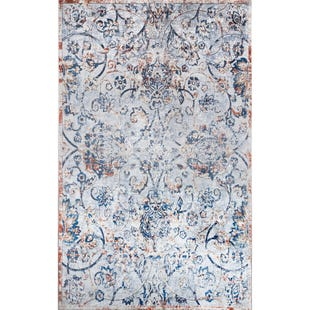 Karichi Light Blue 6x9 Rug