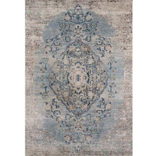 Amelia Light Blue 5x8 Rug