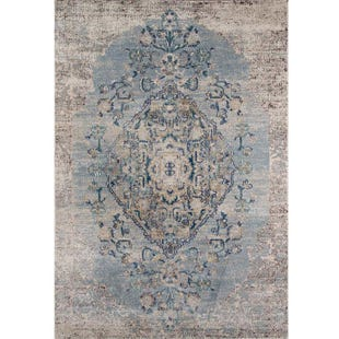Amelia Light Blue 8x10 Rug